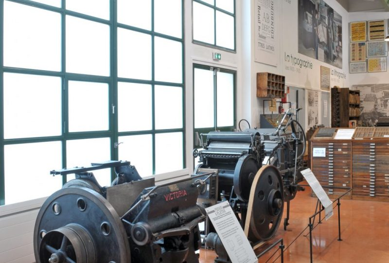 Cardboard and printing Museum à Valréas - 1