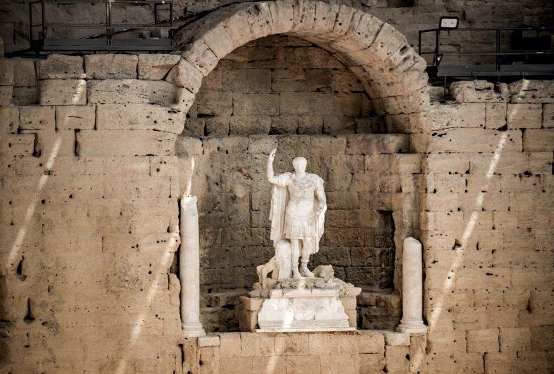 Roman Theatre in Orange à Orange - 11